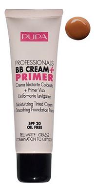 Купить Тональный крем для жирной кожи Professionals BB Cream + Primer SPF20мл: 002 Sand, PUPA Milano