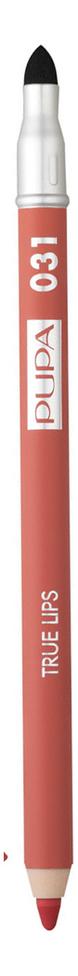 Купить Карандаш для губ с аппликатором True Lips Pencil 1, 2г: 031 Coral, PUPA Milano