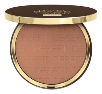Компактная пудра с бронзирующим эффектом Desert Bronzing Powder 30г: 03 Amber Light pupa bronzing and contouring all in one powder palette
