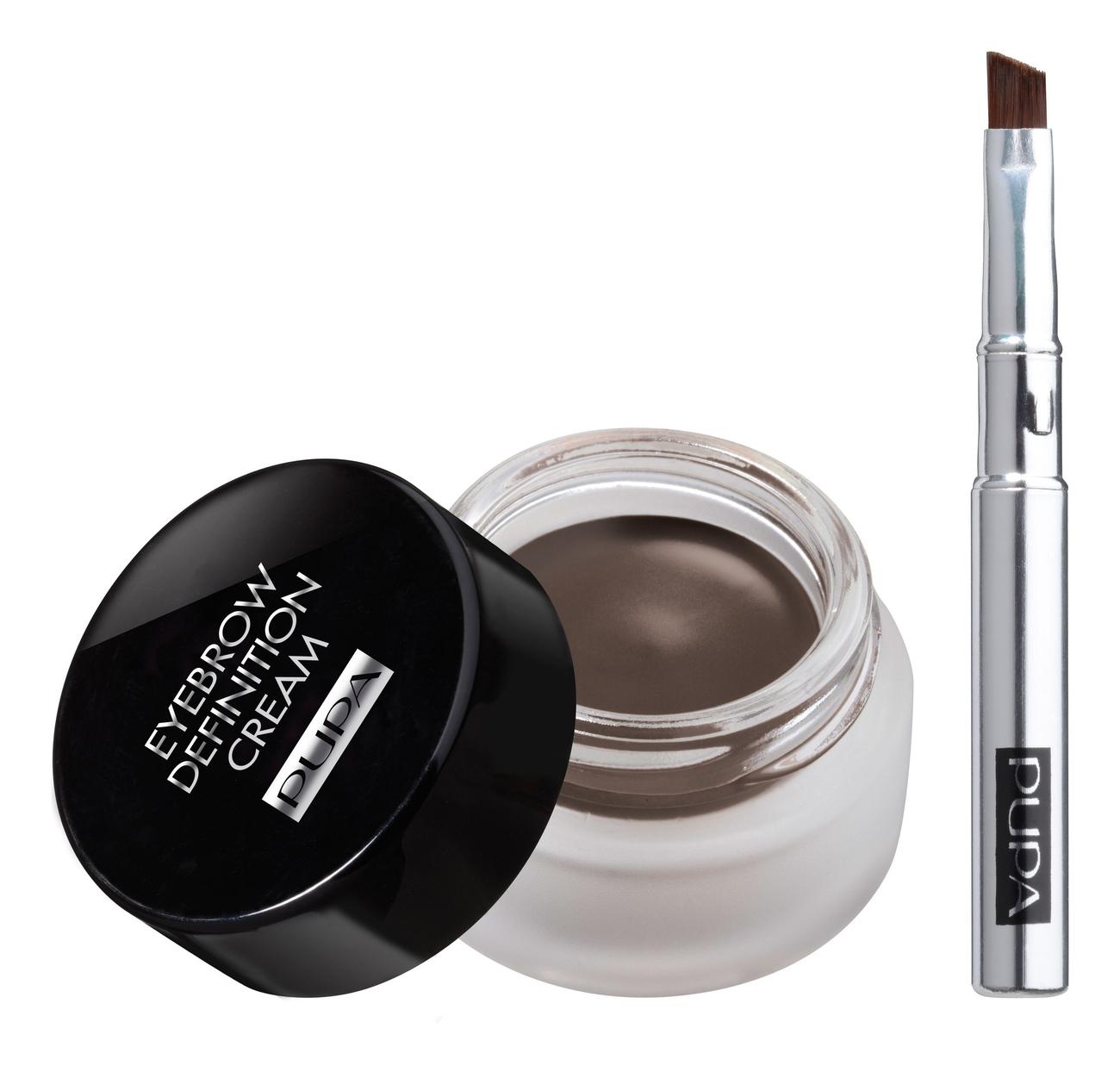 Купить Крем для бровей Eyebrow Definition Cream 2, 7мл: 004 Dark Chocolate, PUPA Milano