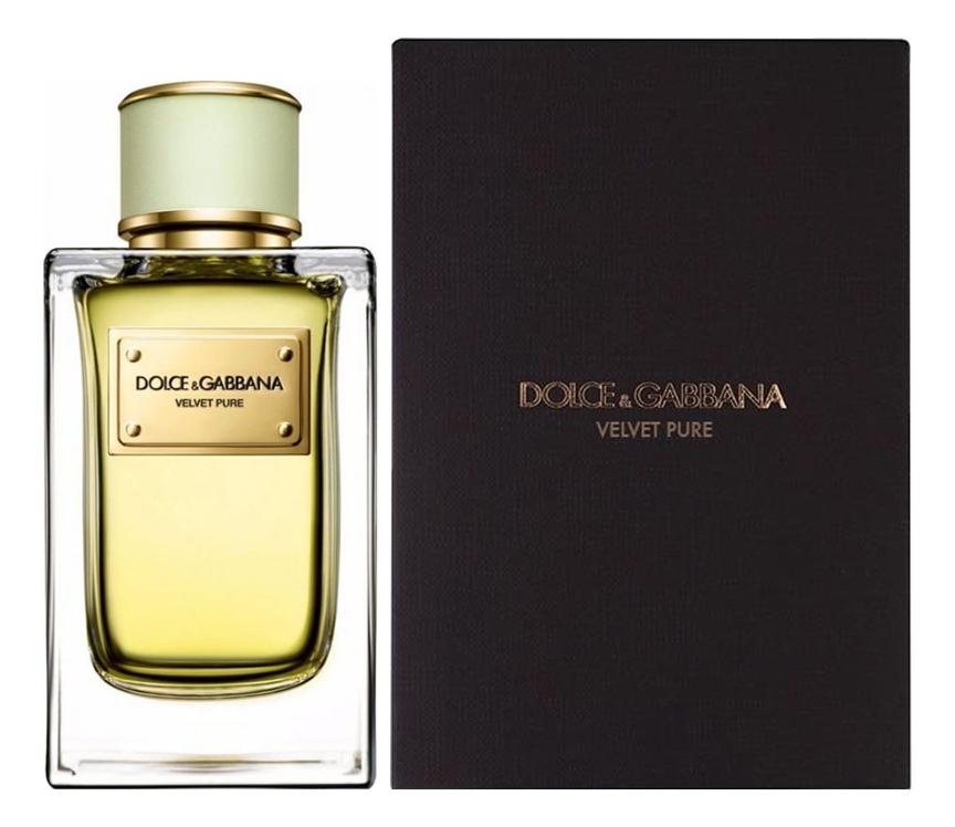 Dolce Gabbana (D&G) Velvet Pure : парфюмерная вода 150мл dolce gabbana velvet mimosa bloom туалетные духи 150 мл