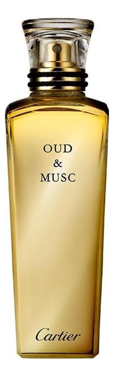 Cartier Oud & Musc: духи 75мл тестер