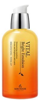 Купить Витаминизированная осветляющая эмульсия для лица Vital Bright Emulsion 130мл, The Skin House