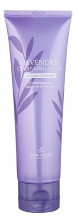 Фото - Пенка для умывания с экстрактом лаванды Lavender Cleansing Foam 120мл пенка для умывания milky piggy elastic pore cleansing foam 120мл