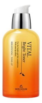 Купить Витаминизированный осветляющий тонер для лица Vital Bright Toner 130мл, The Skin House