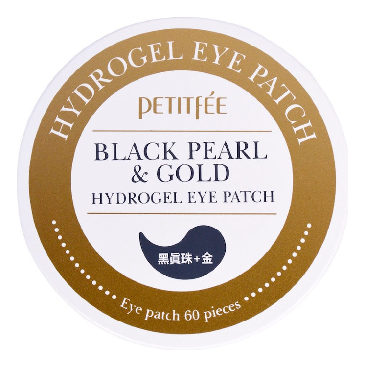 Купить Гидрогелевые патчи для области вокруг глаз Black Pearl & Gold Hydrogel Eye Patch 60шт, Гидрогелевые патчи для области вокруг глаз Black Pearl & Gold Hydrogel Eye Patch 60шт, Petitfee