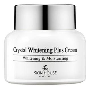 Осветляющий крем против пигментации для лица Crystal Whitening Plus Cream 50г недорого