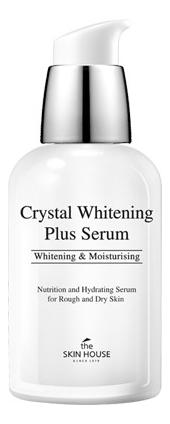 Осветляющая эссенция для лица против пигментации Crystal Whitening Plus Serum 50мл недорого