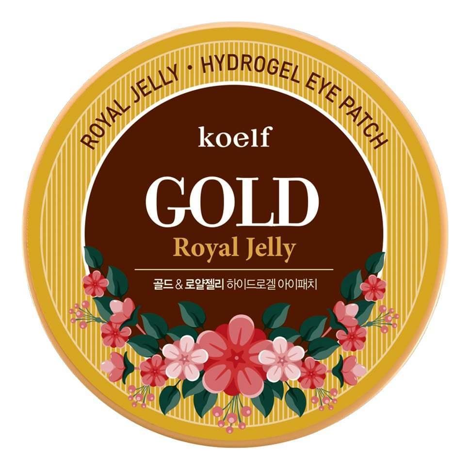 Гидрогелевые патчи для области вокруг глаз Hydro Gel Gold & Royal Jelly Eye Patch 60шт