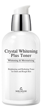 The Skin House Осветляющий тоник для лица против пигментации Crystal Whitening Plus Toner 130мл