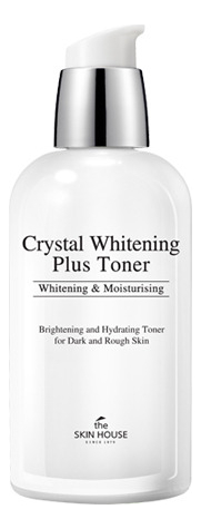 Осветляющий тонер для лица против пигментации Crystal Whitening Plus Toner 130мл недорого