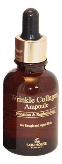 Ампульная сыворотка с коллагеном Wrinkle Collagen Ampoule 30мл недорого