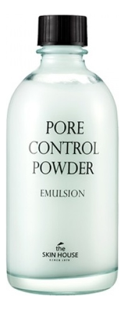 Эмульсия для сужения расширенных пор Pore Control Powder Emulsion 130мл the skin house зеленая глиняная маска для сужения пор 100 мл