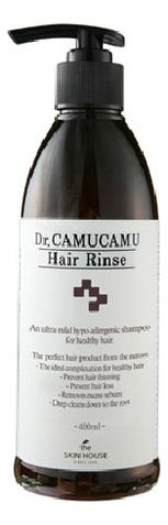 Лечебный бальзам для волос Dr. CamuCamu Hair Rinse 400мл цена 2017