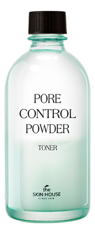 Тоник с абсорбирующей пудрой Pore Control Powder Toner 130мл the skin house зеленая глиняная маска для сужения пор pore tightening clay pack 100 мл