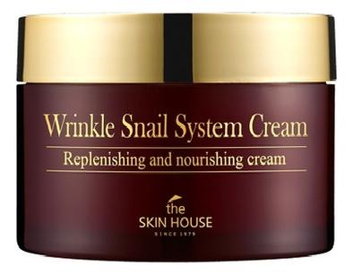 Антивозрастной улиточный крем Wrinkle Snail System Cream: Крем 100мл snail крем