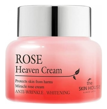 Фото - Крем для лица с экстрактом розы Rose Heaven Cream 50мл крем для тела с экстрактом зверобоя и маслом ройбоша skin nourishing body cream крем 50мл