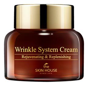Антивозрастной крем для лица с коллагеном Wrinkle System Cream: Крем 50г недорого