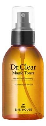 Тонер против воспалений Dr. Clear Magic Toner 130мл