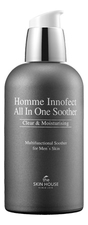 The Skin House Многофункциональное ухаживающее средство для лица Homme Innofect Control All-In-One Soother 130мл