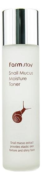 Купить Увлажняющий тонер для лица с муцином улитки Snail Mucus Moisture Toner 150мл, Farm Stay