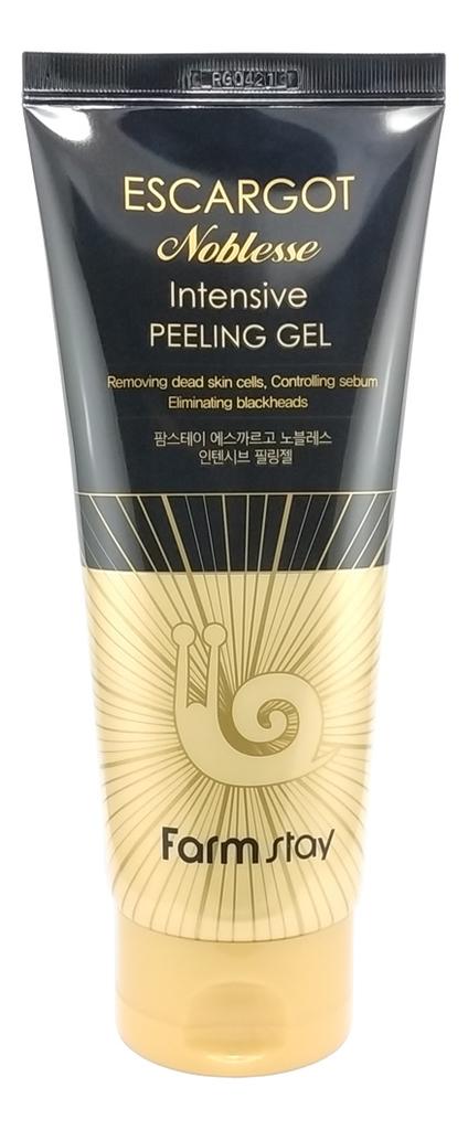 Пилинг гель для лица с муцином королевской улитки Escargot Noblesse Intensive Peeling Gel 180мл