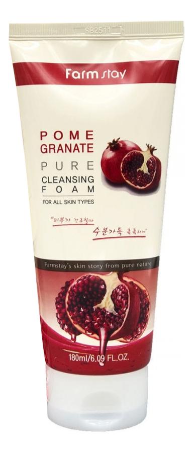 Пенка очищающая с экстрактом граната Granate Pure Cleansing Foam 180мл пенка очищающая с экстрактом алоэ aloe cleansing foam 180мл
