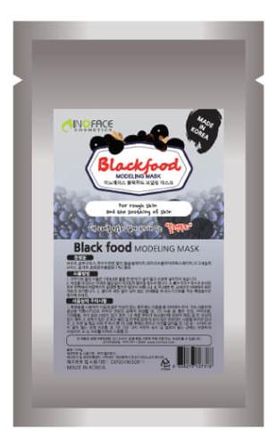 Купить Альгинатная маска с древесным углем Blackfood Modeling Mask 200г, Inoface