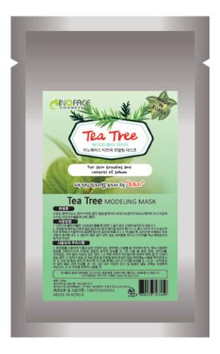 Купить Альгинатная маска с экстрактом чайного дерева Tea Tree Modeling Mask 200г, Inoface