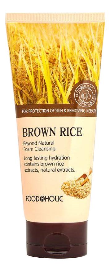 Пенка для умывания Brown Rice Beyond Natural Foam Cleansing 180мл (экстракт коричневого риса) takasago brown rice шампунь