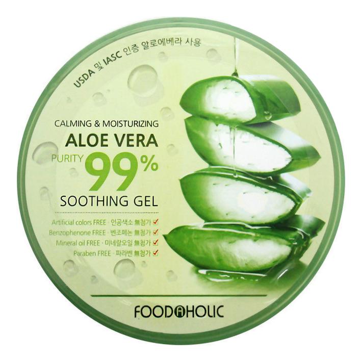 Многофункциональный гель алоэ 99% Calming and Moisturizing Aloe Vera Soothing Gel 300мл