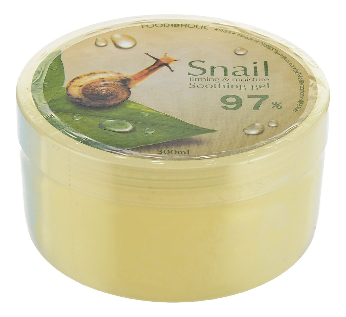 Многофункциональный гель c 97% экстрактом улитки Snail Firming and Moisure Soothing Gel 300мл