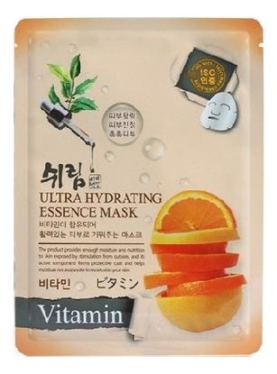 Увлажняющая тканевая маска с витаминами Hydrating Essence Mask Vitamin 25мл недорого