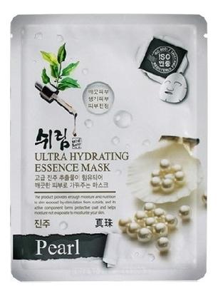 Увлажняющая тканевая маска с натуральным экстрактом жемчуга Hydrating Essence Mask Pearl 25мл