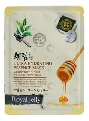 Увлажняющая тканевая маска с натуральным экстрактом пчелиного маточного молочка Hydrating Essence Mask Royal Jelly 25мл dermal тканевая маска с коллагеном и экстрактом пчелиного маточного молочка 23 г
