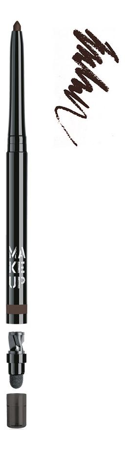 Купить Автоматический контурный карандаш для глаз Automatic Eyeliner 0, 31г: 06 Terra, MAKE UP FACTORY