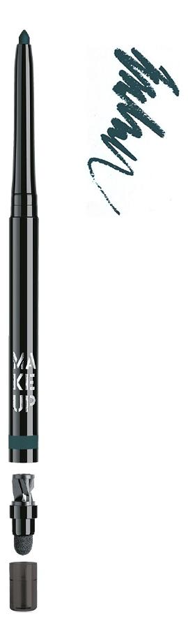 Автоматический контурный карандаш для глаз Automatic Eyeliner 0,31г: 11 Green Moon make up factory карандаш для