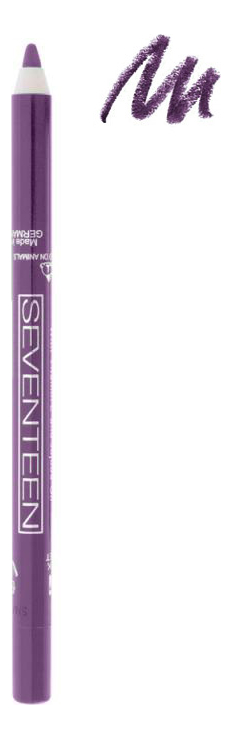 Карандаш для век с витамином Е Supersmooth Waterproof Eyeliner (водостойкий) 1,2г: 44 Winter Purple