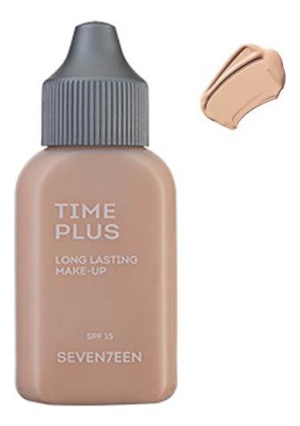 Тональный крем длительного действия Time Plus Long Lasting Make-Up 35мл: 01 Porcelain тональный крем seventeen seventeen se039lwavhv9