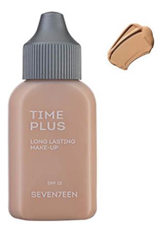 Тональный крем длительного действия Time Plus Long Lasting Make-Up 35мл: 02 Light Beige тональный крем seventeen seventeen se039lwavhv9
