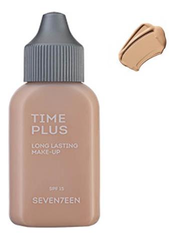 Тональный крем длительного действия Time Plus Long Lasting Make-Up 35мл: 03 Natural Beige