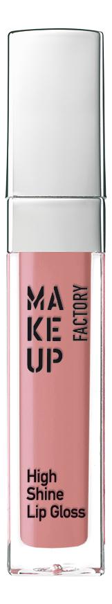 Купить Блеск для губ с эффектом влажных губ High Shine Lip Gloss 6, 5мл: 39 Dune Rose, MAKE UP FACTORY