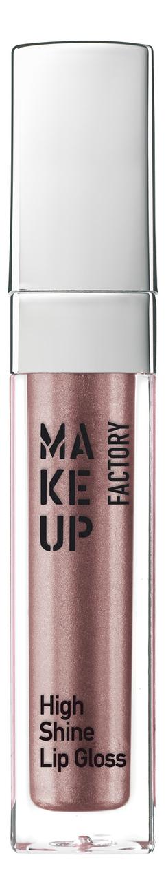Блеск для губ с эффектом влажных губ High Shine Lip Gloss 6, 5мл: 49 Precious Rose, MAKE UP FACTORY  - Купить