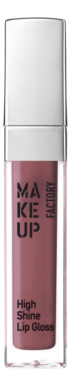 Купить Блеск для губ с эффектом влажных губ High Shine Lip Gloss 6, 5мл: 56 Rose Woods, MAKE UP FACTORY