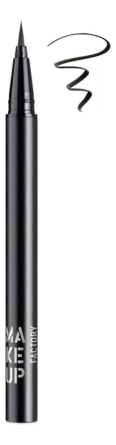 Купить Жидкая подводка для глаз Calligraphic Eye Liner 0, 55г: 01 Black, MAKE UP FACTORY
