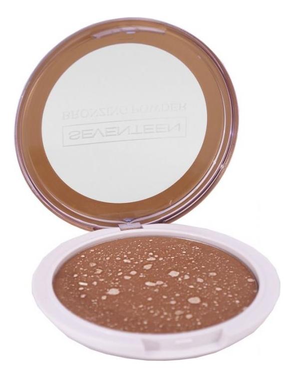 Компактная пудра для лица с бронзирующим эффектом Bronzing Powder 16г: No 2