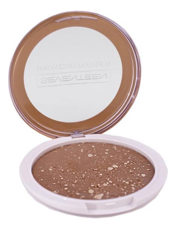 Компактная пудра для лица с бронзирующим эффектом Bronzing Powder 16г: No 4