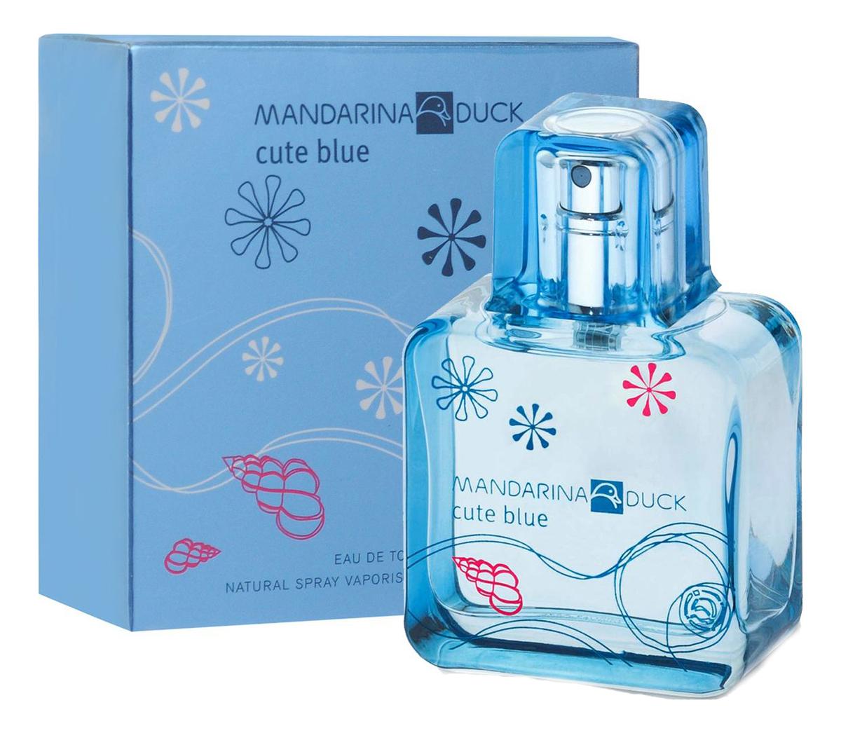 Купить Mandarina Duck Cute Blue Woman: туалетная вода 30мл