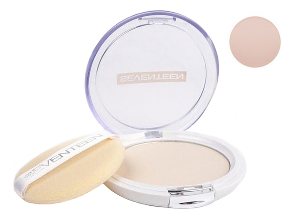 Компактная пудра для лица Natural Silky Transparent Compact Powder SPF15 10г: 1 Ivory компактная пудра для лица all matt plus shine control powder 10г 001 universal