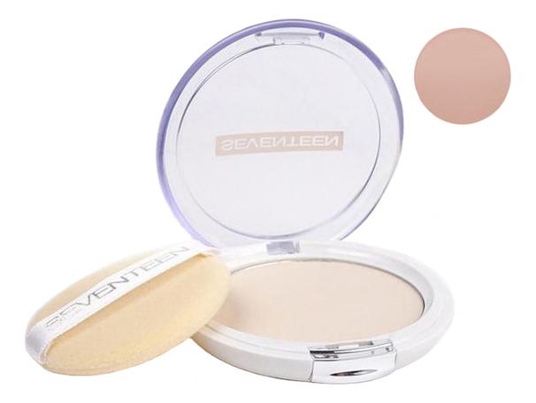 Компактная пудра для лица Natural Silky Transparent Compact Powder SPF15 10г: 4 Beige компактная шелковая пудра для лица natural glow silky powder seventeen лицо